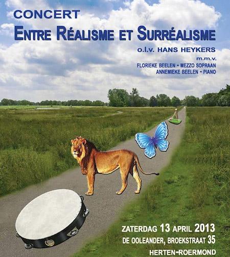 Flyer Realisme voor