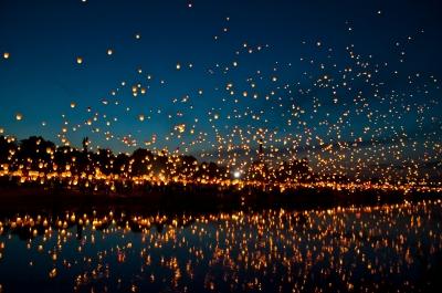 Midzomernachtsconcert sterrenhemel
