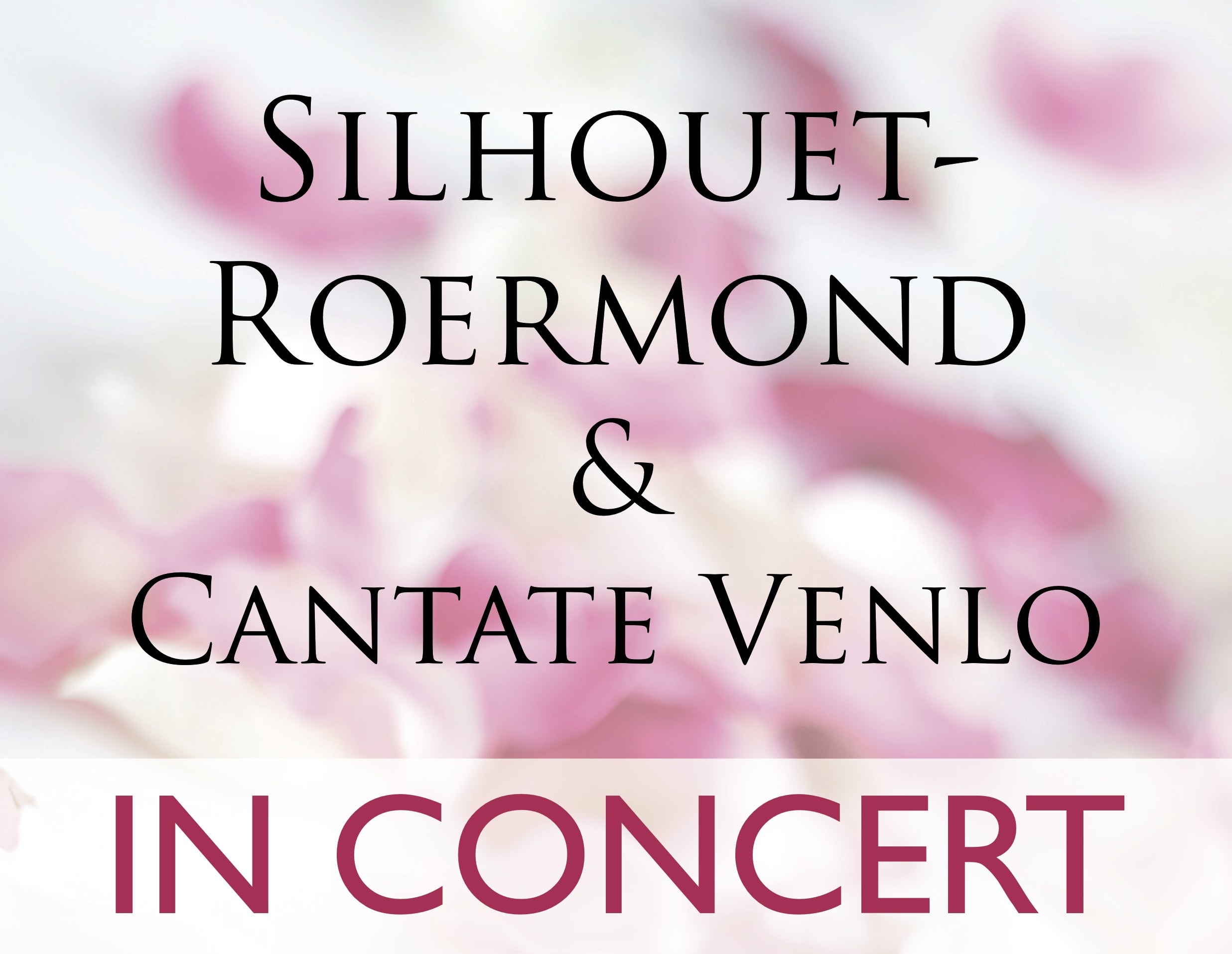 Silhout en Cantate in concert 2018